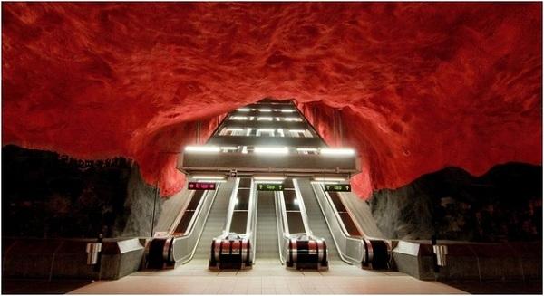Metro - Stokholm / İsveç