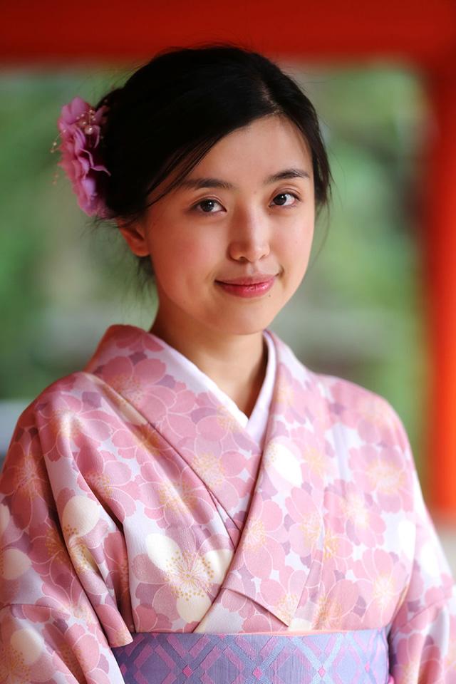 Japon Genç Kız Portre Fotoğrafı
