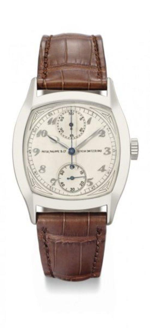 Patek Philippe 1928 Single-Button Chronograph