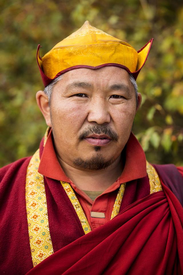 Buryat Erkek Portre Fotoğrafı