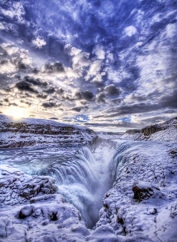 Gullfoss - İzlanda