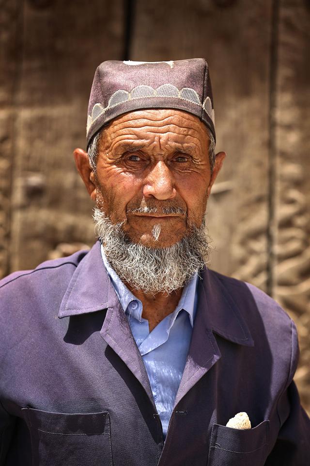 Özbek Erkek Portre Fotoğrafı