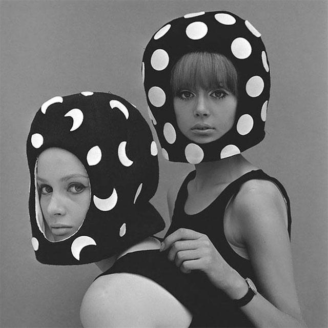 Siyah & Beyaz Moda Fotoğrafları