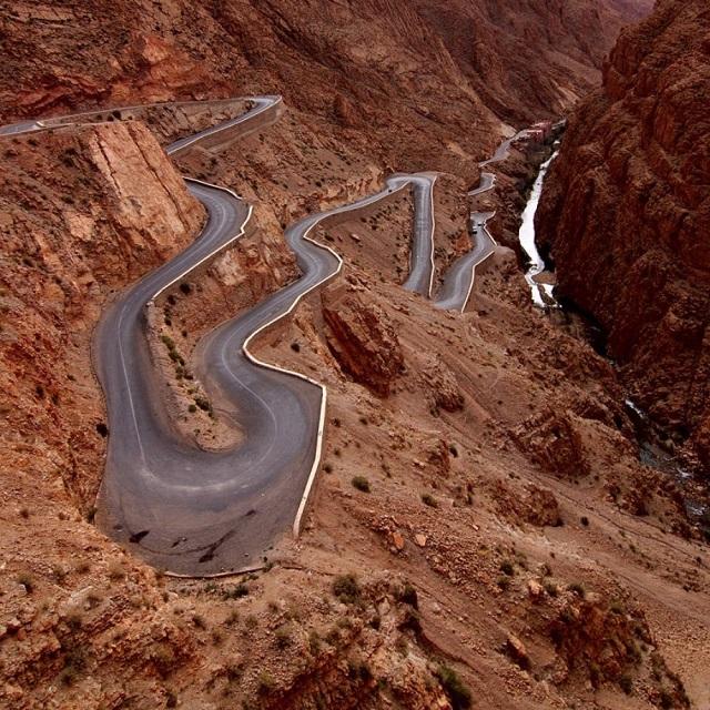 Dades Gorges, High Atlas – Fas
