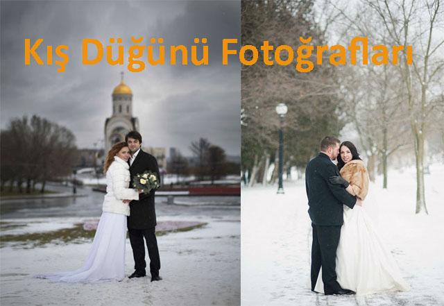 Kış Düğünü Fotoğrafları