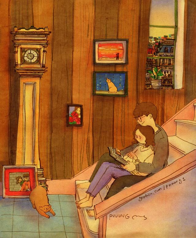 Aşk birlikte kitap okumaktır