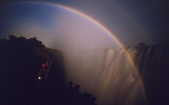 Gökkuşağı, Victoria Şelaleri, Zambia