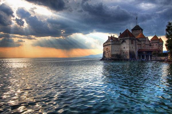 Cenevre Gölü, İsviçre