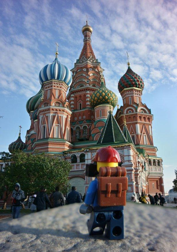 St. Basils Katedrali - Moskova