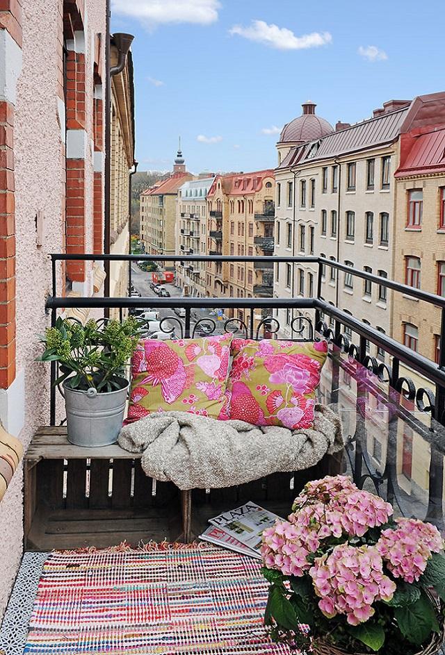 Balkon Dekorasyonu Örnekleri