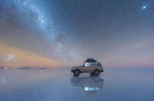 Salar de Uyuni Gölü