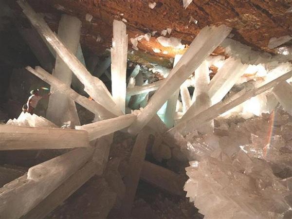 Kristal Mağarası - Chihuahua / Meksika