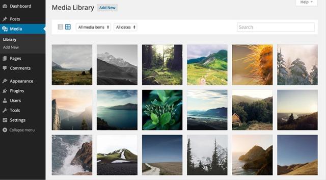 WordPress Ortam Kütüphanesi