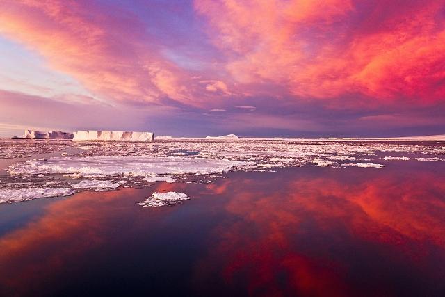 Antartika Gündoğumu