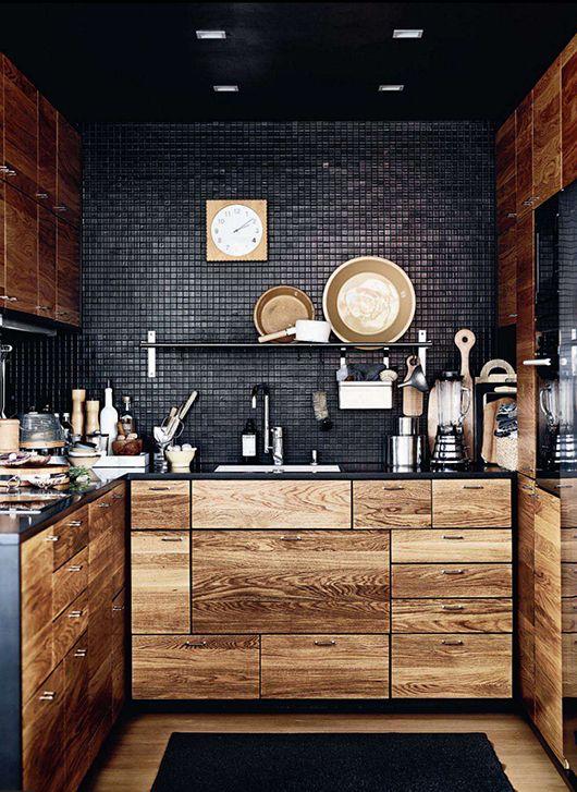 Ahşap Mutfak Tasarımı