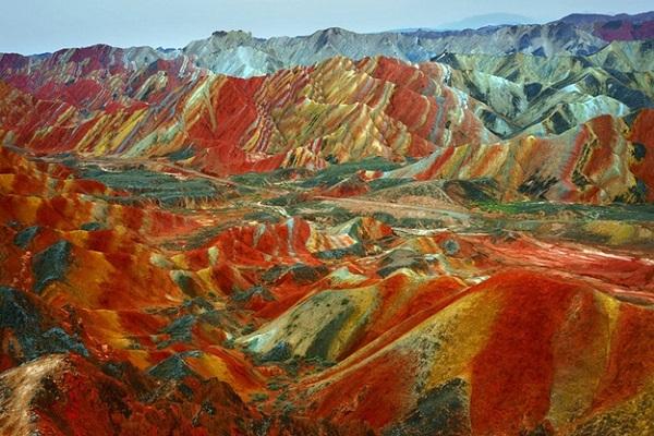 Zhangye Jeoloji Parkı - Çin