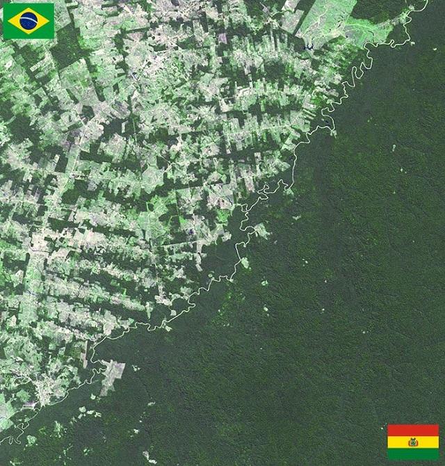 Bolivya - Brezilya Sınırı