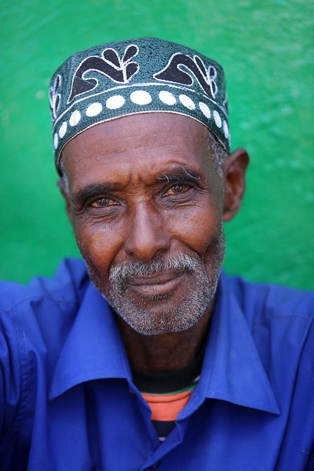 Somaliland Erkek Portre Fotoğrafı