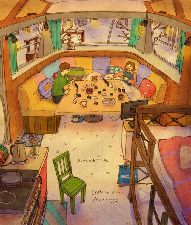 Aşk beraber oyun oynamaktır