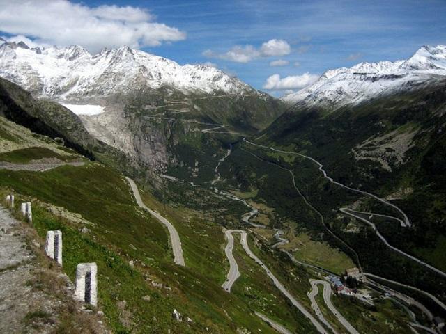 Furka Pass – İsviçre
