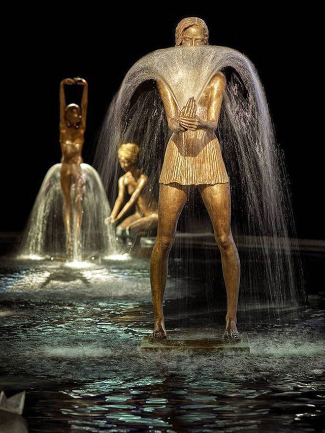 bronz heykel - fiskiye