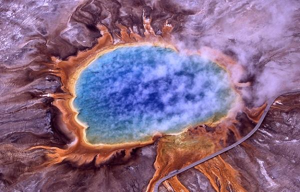 Grand Prismatic Spring - Yellowstone Ulusal Parkı / Wyoming
