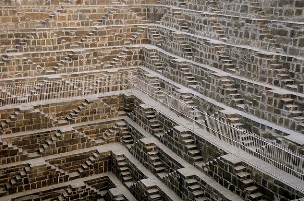 Chand Baori - Abhaneri / Hindistan