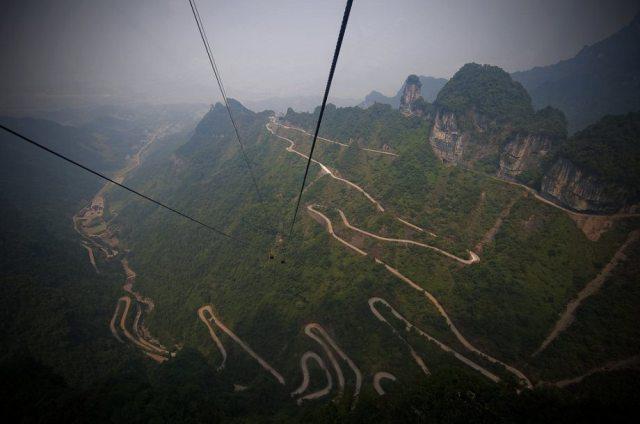 Tianmen Mountain Road, Hunan – Çin