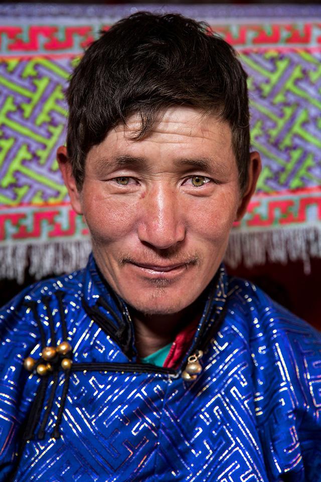 Tuva Erkek Portre Fotoğrafı