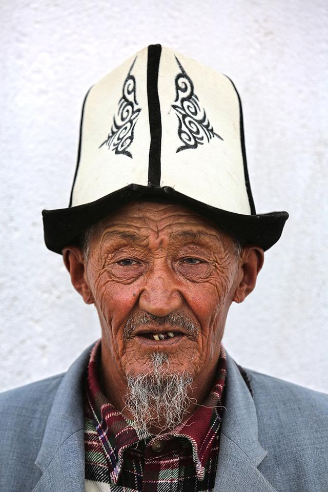 Kırgız Erkek Portre Fotoğrafı