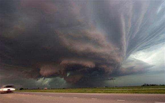 Fırtına, Tornado Alley