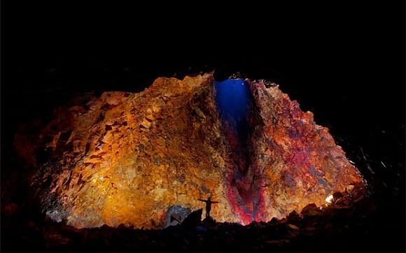 Thrihnukagigur Volkanı, İzlanda