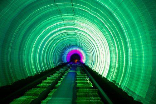 Bund Sightseeing Tüneli Yolculuğu