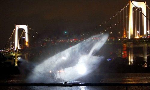 Dünyanın En Parlak Su Işık Gösterisi