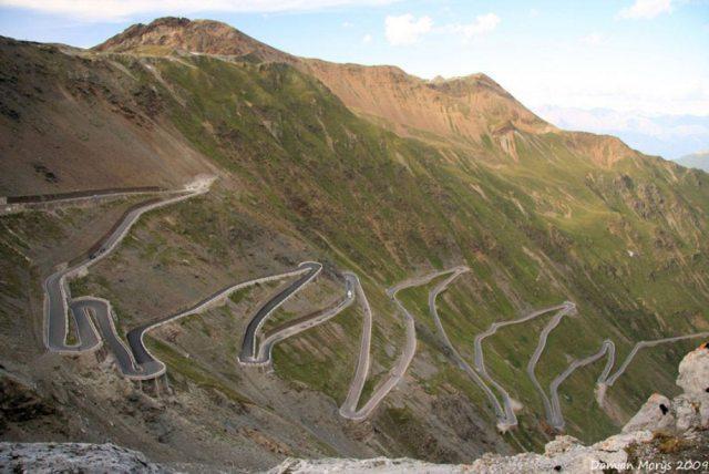Stelvio Pass, Doğu Alpler – İtalya
