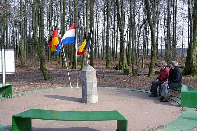 Almanya - Hollanda - Belçika Sınırı