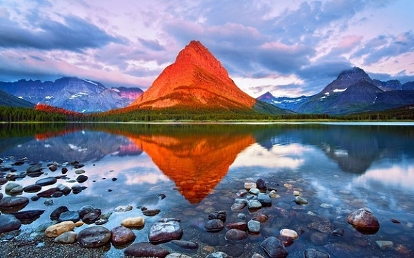 Grinnell Dağı - Glacier Milli Parkı - Montana