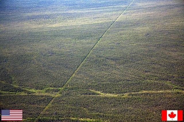 ABD - Kanada Sınırı