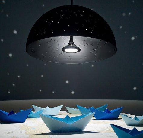 Yıldızlı Işık Veren Lamba
