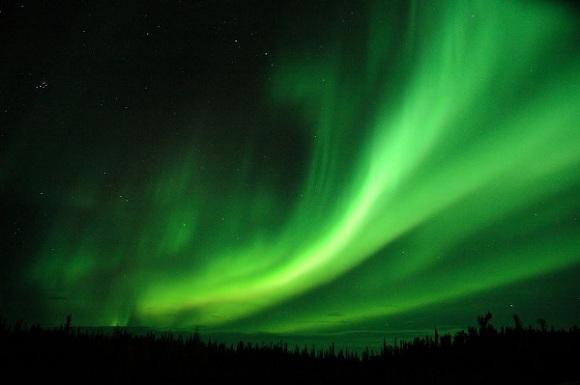 Kuzey Işıkları, İskandinavya