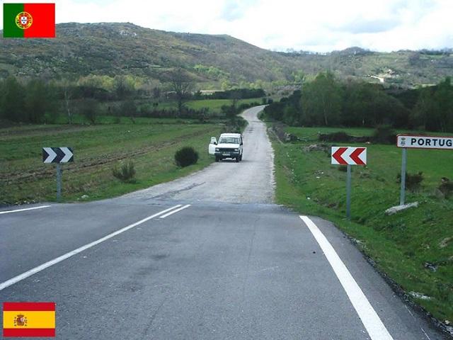İspanya - Portekiz Sınırı