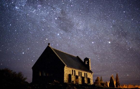 Gökyüzü, Mackenzie Basin, Yeni Zelanda