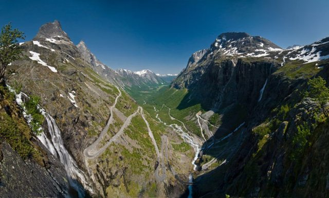Trollstigen, Rauma – Norveç