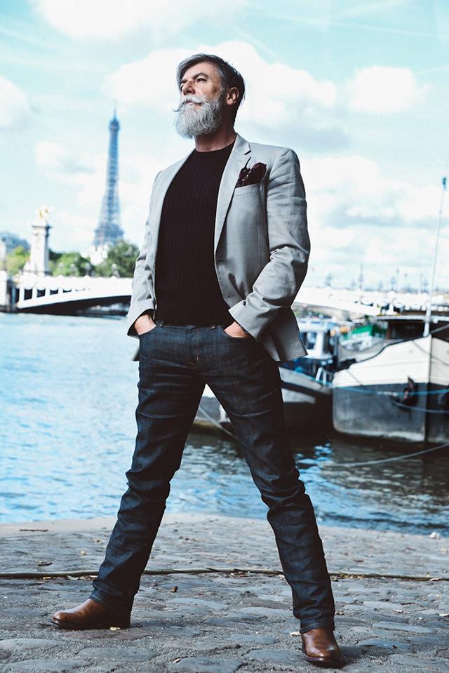60 Yaşında Model Olan Philippe Dumas
