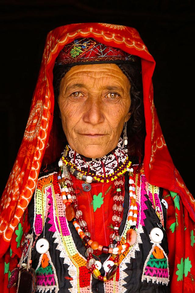 Wakhi Kadın Portre Fotoğrafı