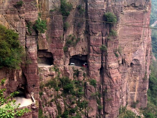 Guoliang Tunnel Road – Çin