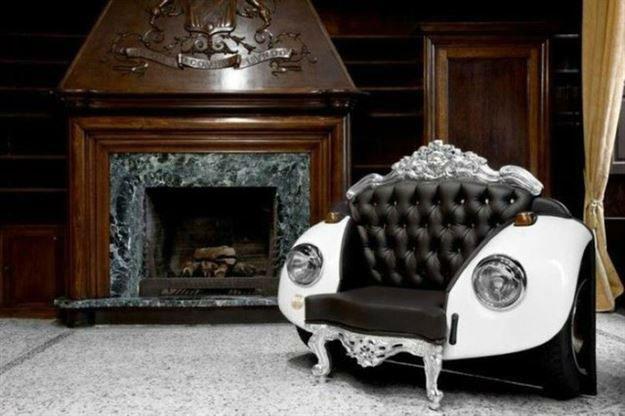 Ev Dekorasyonu İçin Araba Parçaları Kullanmak