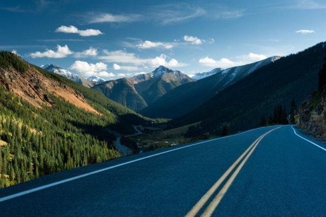 US Route 550 'Million Dollar Highway – Colorado