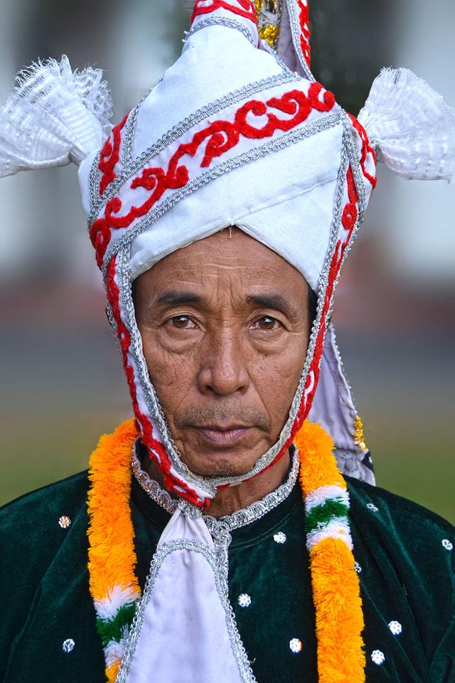 Meitei Erkek Portre Fotoğrafı