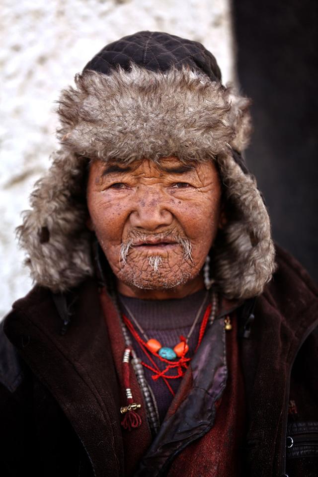 Tibet Erkek Portre Fotoğrafı